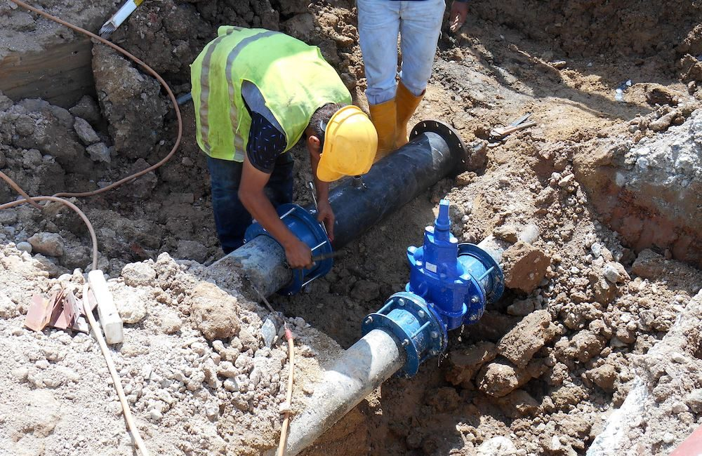 Services - Pipe bursting sewer replacement